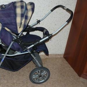Продам коляску детскую трансформер б/у