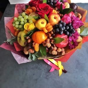 Букет из фруктов,  подарки 2020,  мужской букет,  съедобный букет