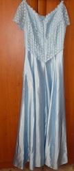 Голубое платье на выпускной р-р44-48